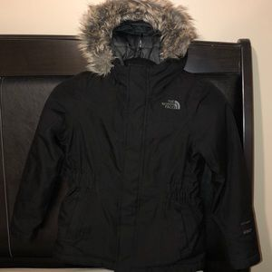 Kids 7/8 The North Face Hooded Down Parka